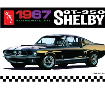 AMT 1/25 1967 Ford Shelby GT350 (Black)