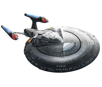 AMT 1/1400 Star Trek USS Enterprise 1701-E
