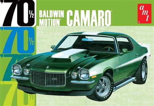 AMT 1/25 Baldwin Motion 1970 1/2 Chevy Camaro (Dark Green)