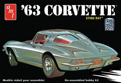 AMT 1/25 1963 Chevy Corvette