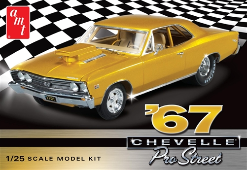 AMT 1/25 1967 Chevy Chevelle Pro Street 2T