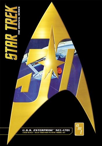 AMT 1/650 Star Trek Classic USS Enterprise (50th Anniversary Ed)
