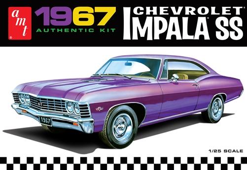 AMT 1/25 1967 Chevy Impala SS (Stock) 2T