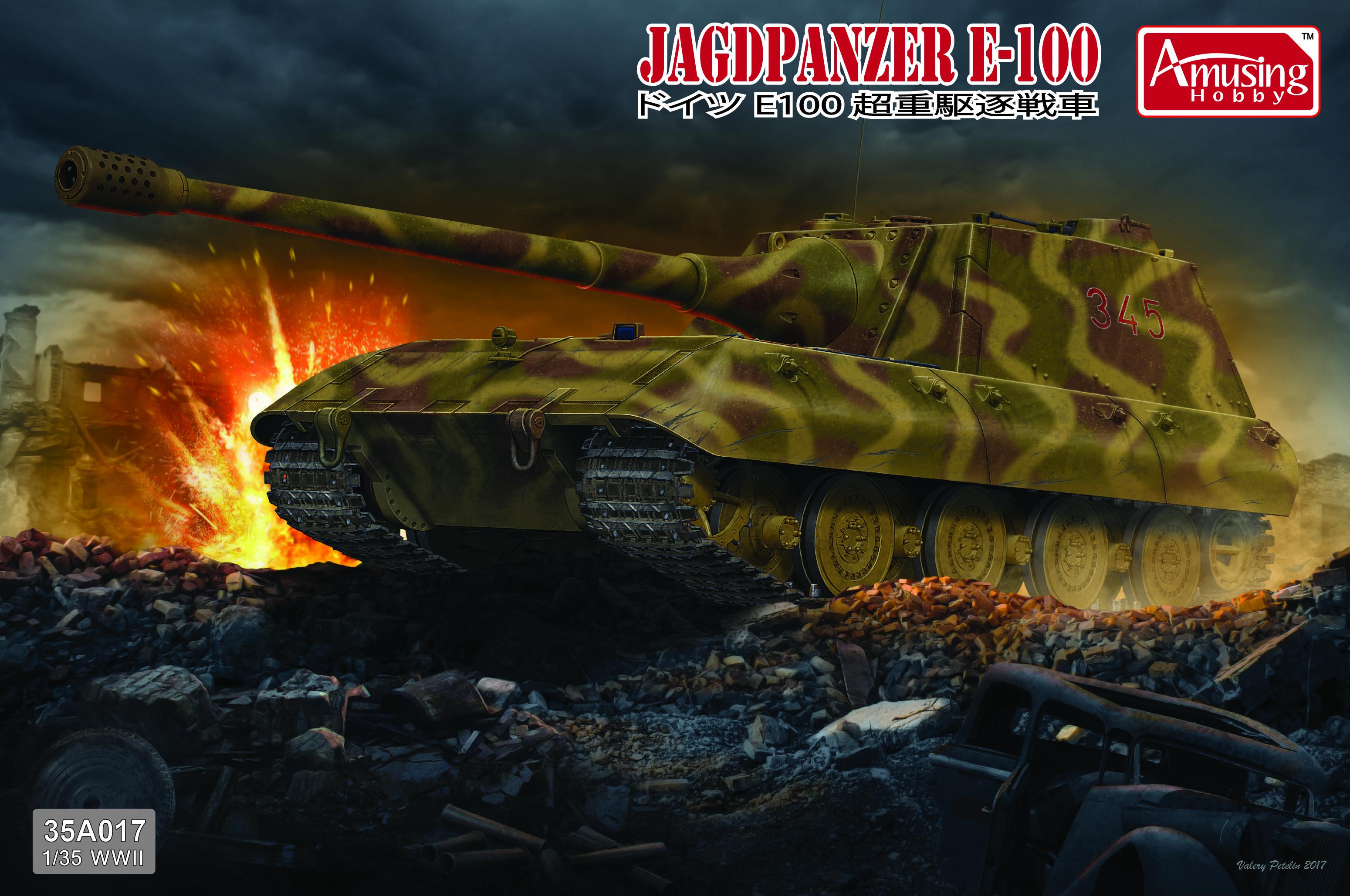 Amusing Hobby 1/35 Jagdpanzer E-100