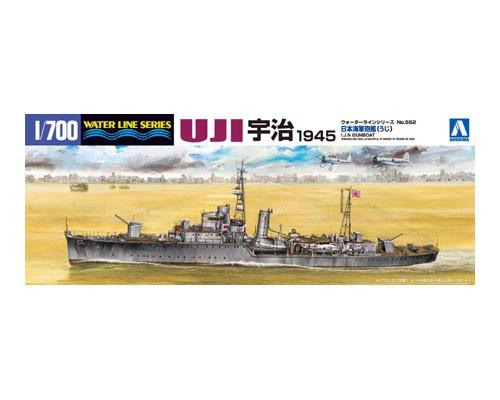 Aoshima 1/700 I.J.N. GUNBOAT UJI