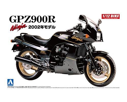 Aoshima 1/12 Kawasaki GPZ900R NINJA '02 Model (Kawasaki)