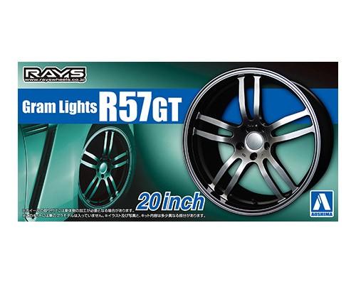 Aoshima 1/24 GRAM LightS R57GT 20inch
