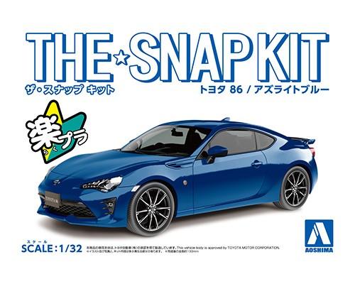 Aoshima 1/32 Toyota 86 (Azurite Blue)