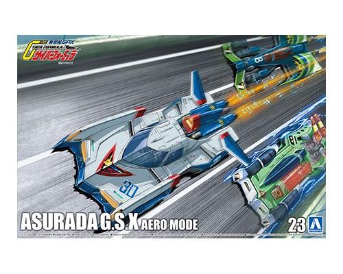 Aoshima 1/24 Cyber Formula Asurada G.S.X Aero Mode
