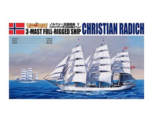 Aoshima 1/350 Christian Radich