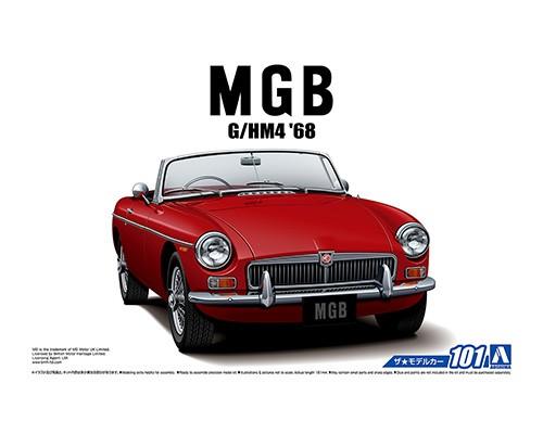 Aoshima 1/24 BLMC G/HM4 MG-B MK-2 '68