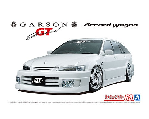 Aoshima 1/24 GARSON GERAID GT CF6 ACCORD WAGON '97(Honda)