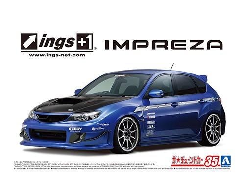 Aoshima 1/24 ings GRB Impreza WRX STI '07 Subaru