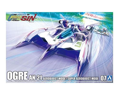Aoshima 1/24 Cyber Formula Ogre An-21 Aeroboost Mode/Super Aeroboost Mode