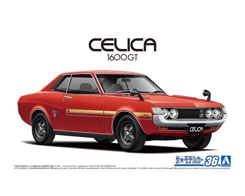 Aoshima 1/24 Toyota TA22 Celica 1600GT '72