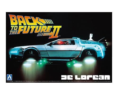 Aoshima 1/24 BACK TO THE FUTURE DELOREAN from PART II
