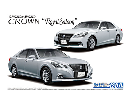 Aoshima 1/24 Toyota GRS210/AWS210 Crown Royal Saloon 15