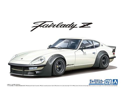 Aoshima 1/24 Nissan S30 Fairlady Z Aero Custom Ver.2'75