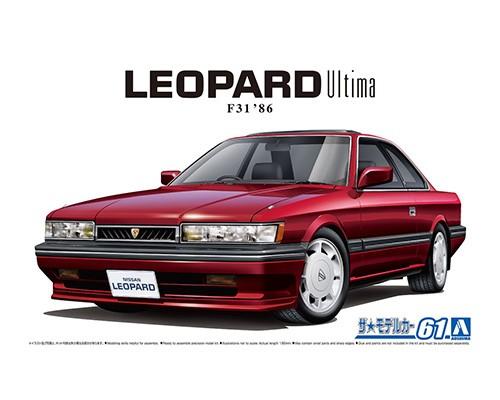 Aoshima 1/24 Nissan UF31 Leopard 3.0 Ultima '86
