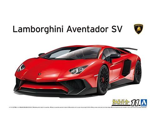 Aoshima 1/24 '15 Lamborghini Aventador SV