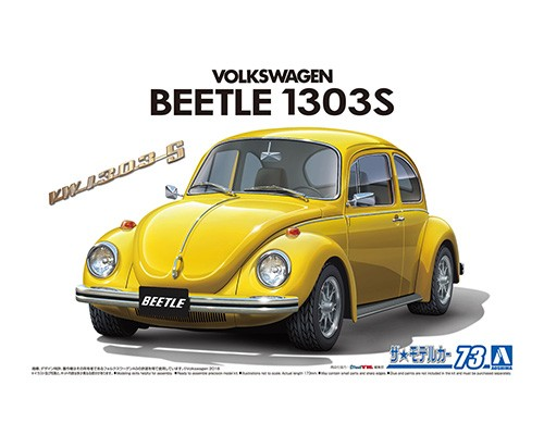 Aoshima 1/24 Volkswagen 13Ad Beetle 1303S '73