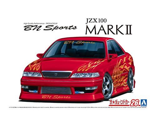 Aoshima 1/24 BN Sports Toyota JZX100 MarkII '98