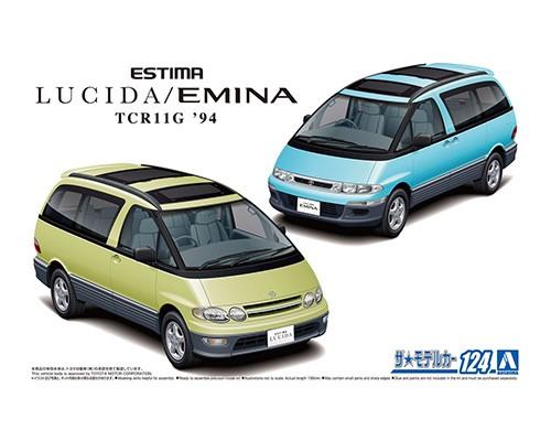 Aoshima 1/24 Toyota TCR11G Estima Lucida/Emina '94