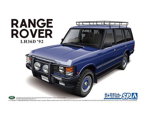 Aoshima 1/24 Landrover LH36D Rangerover Classic Custom '92