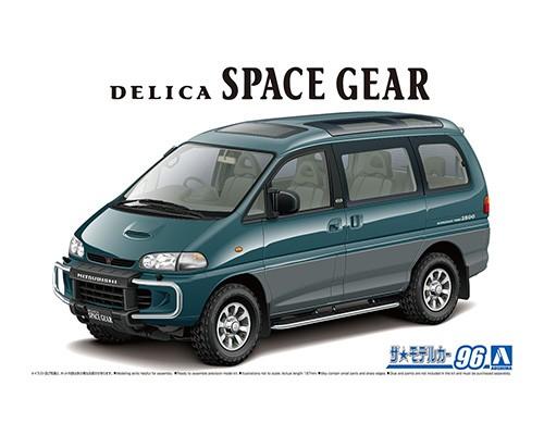 Aoshima 1/24 Mitsubishi PE8W Delica Space Gear '96