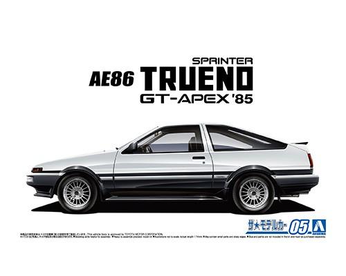 Aoshima 1/24 Toyota AE86 Sprinter Trueno GT-APEX '85