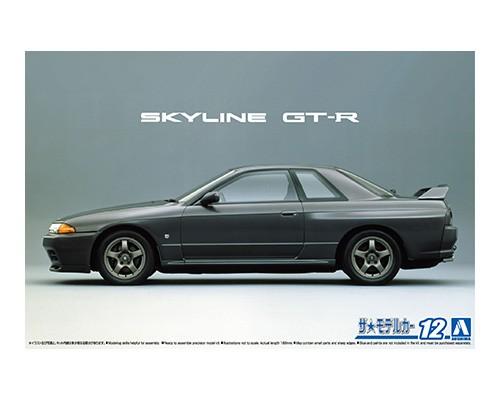 Aoshima 1/24 Nissan BNR32 Skyline GT-R '89