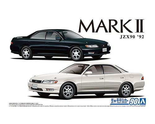 Aoshima 1/24 Toyota JZX90 MARK2 Grande/Tourer '92