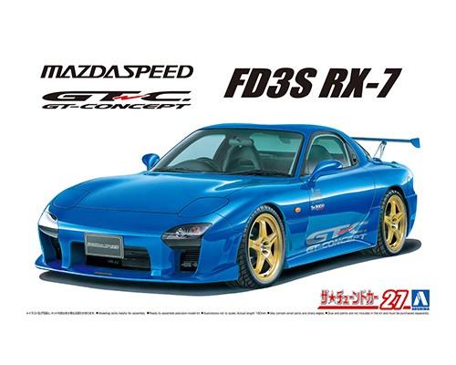 Aoshima 1/24 Mazda Speed FD3S RX-7 A-Spec GT-C '99