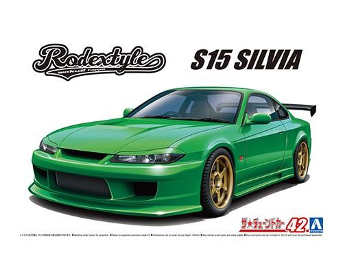 Aoshima 1/24 Nissan Rodextyle S15 Silvia '99