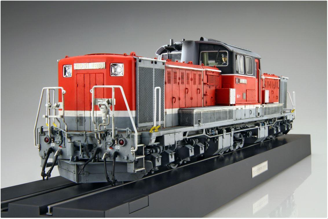 Aoshima 1/45 Diesel Locomotive DD51 JRF