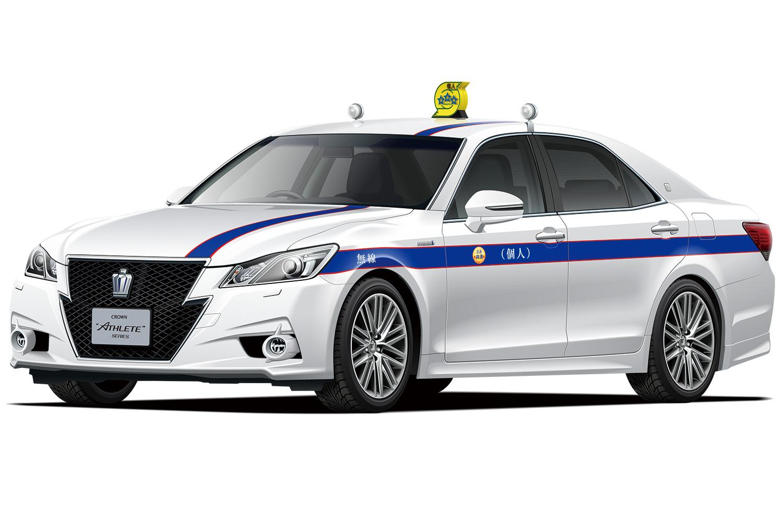 Aoshima 1/24 Toyota ARS210 Crown Athlete '13 Tokyo Individual Taxi Cooperative