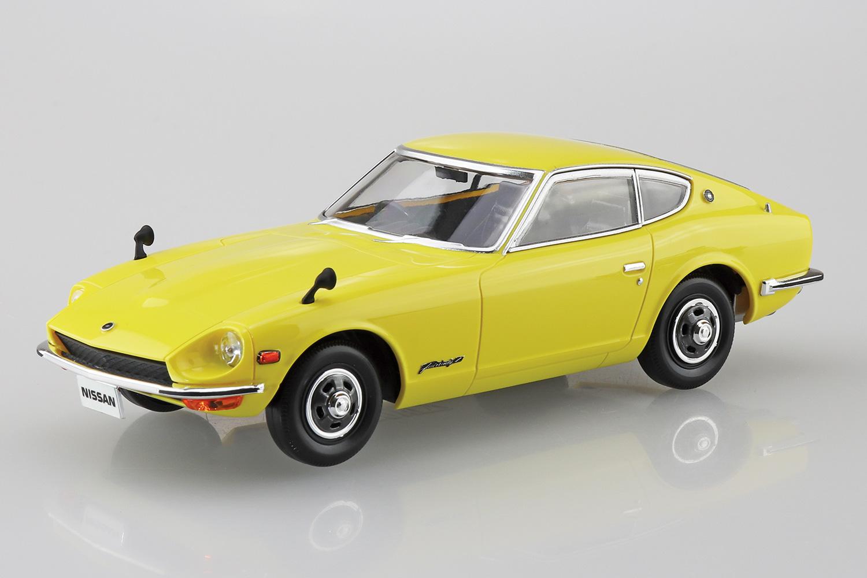 Aoshima 1/32 Nissan S30 Fairlady Z (Yellow)
