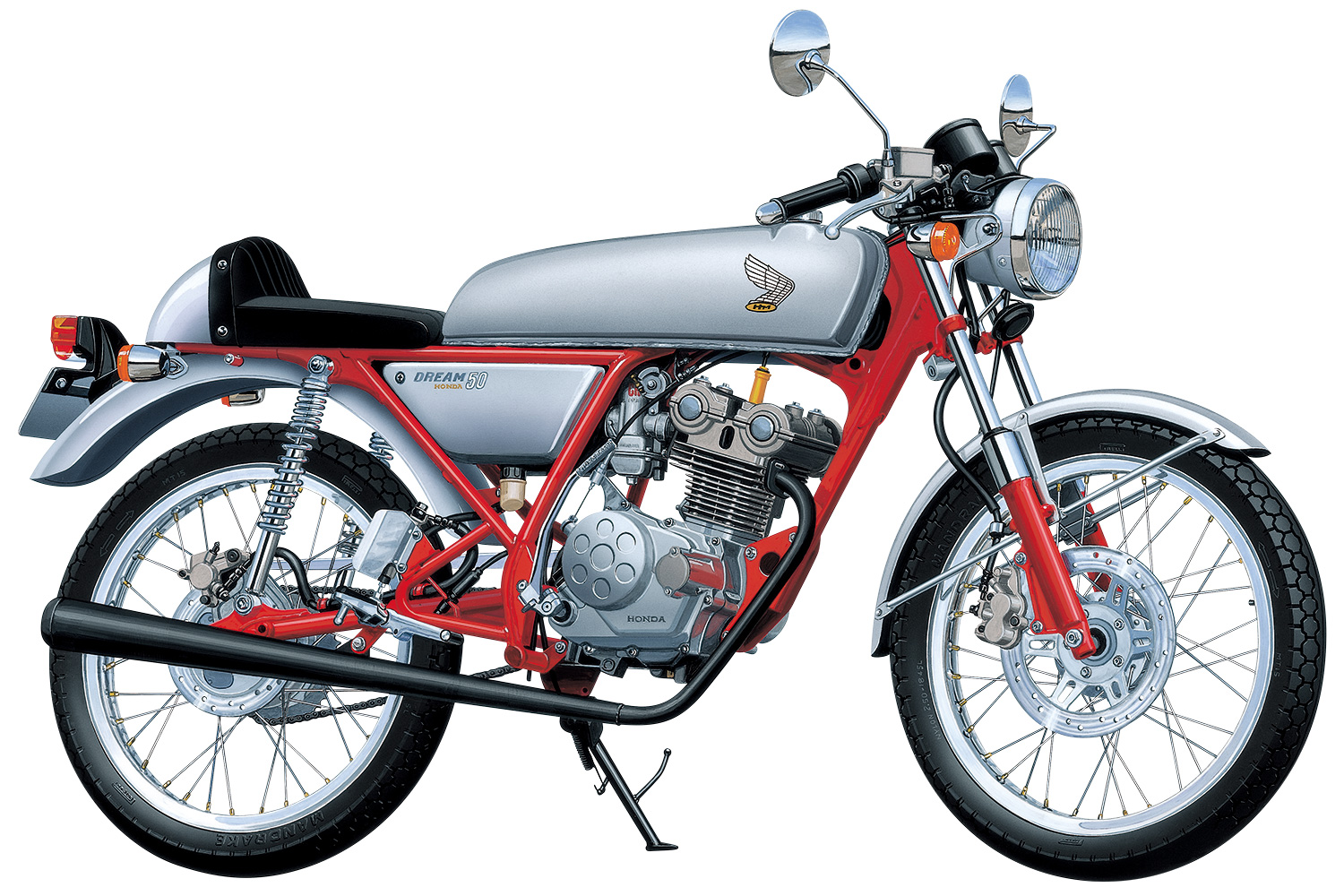 Aoshima 1/12 Honda Dream50 97 Custom