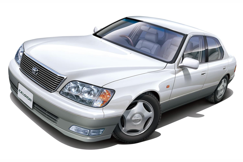 Aoshima 1/24 Toyota UCE21 Celsior C Type '98