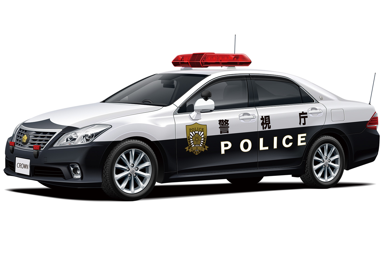Aoshima 1/24 Toyota GRS202 Crown Patrol Car '10