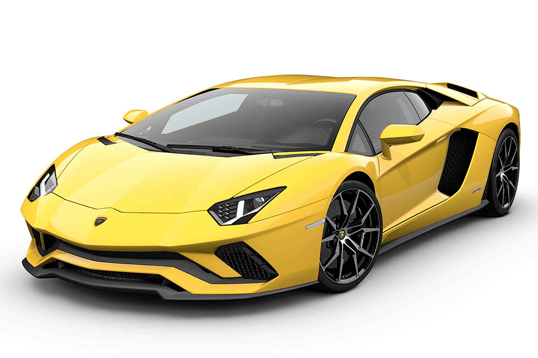 Aoshima 1/32 Lamborghini Aventador S Pearl Yellow