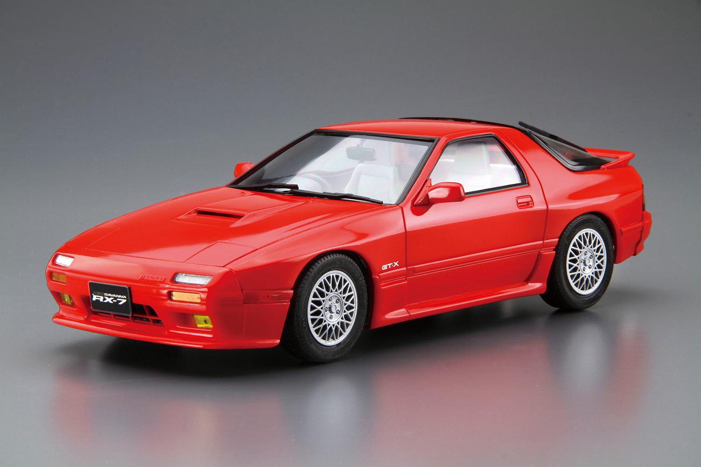 Aoshima 1/24 Mazda FC3S Savanna RX-7 '89