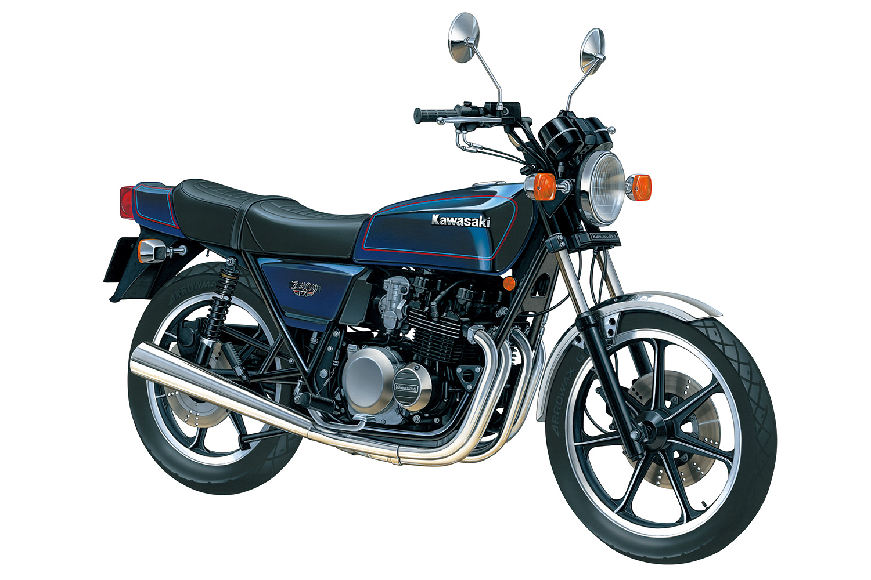 Aoshima 1/12 Kawasaki KZ400E Z400FX '79