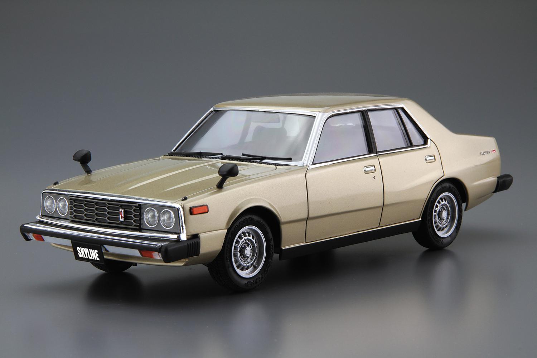 Aoshima 1/24 Nissan HGC211 Skyline 2000GT-E S '79
