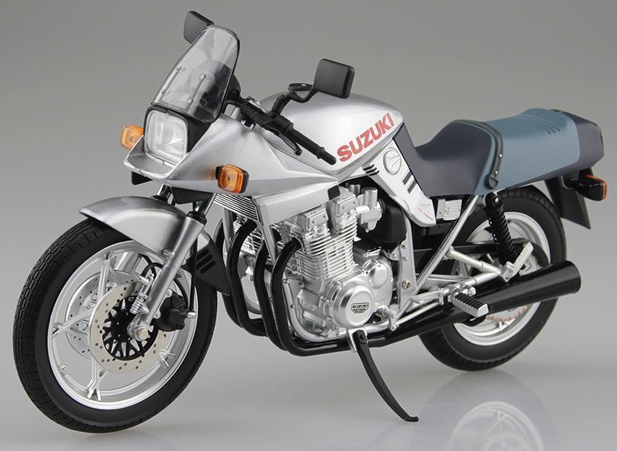 Aoshima 1/12 Suzuki GSX1100S Katana Diecast Motorcycle