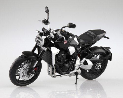 Aoshima 1/12 Honda CB1000R Graphite Black Diecast Motorcycle
