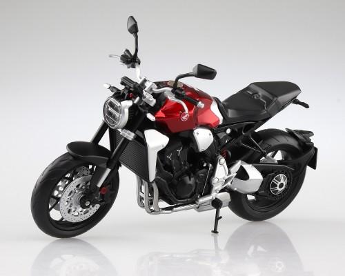 Aoshima 1/12 Honda CB1000R Chromosphere Red Diecast Motorcycle