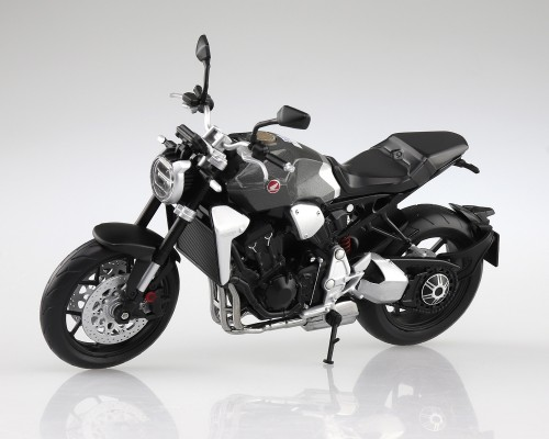 Aoshima 1/12 Honda CB1000R Sword Silver Diecast Motorcycle