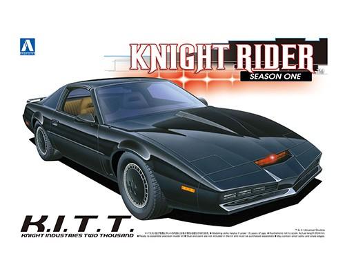 Aoshima 1/24 Knight Rider 2000 K.I.T.T. Season One