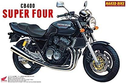 Aoshima 1/12 HONDA CB400SF(BLACK) (HONDA)